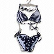 Bikinis,Materials 82% polyamide and 18% elastane fabric, 190gsm ,Top with soft padding