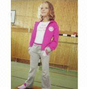 Children's training & jogging suits, 95% cotton and 5% spandex